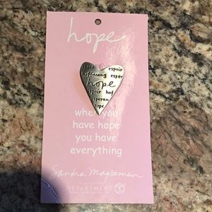 HOPE pin for that struggle in your life.